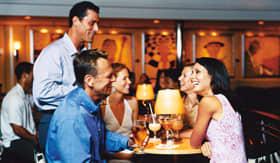 Royal Caribbean International entertainment Viking Crown Lounge