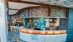 Fish & Ships aboard Royal Caribbean's Independence of the Seas