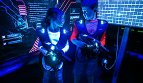 Laser Tag on Royal's Independence of the Seas