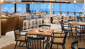 Hooked Seafood Restaurant on RCI's Navigator of the Seas