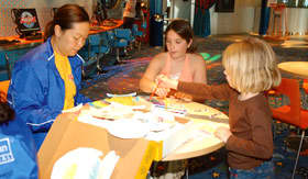 Royal Caribbean International onboard activities Jewelry Making