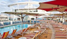 Royal Caribbean International onboard activities Pool Deck