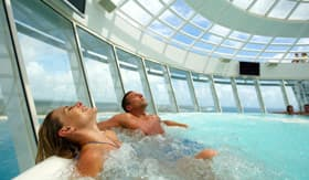 Royal Caribbean International onboard activities Whirlpools