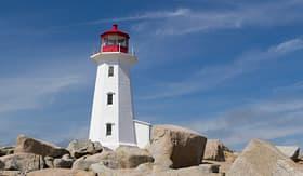 Royal Caribbean Peggys Cove Lighthouse Halifax
