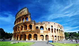 Royal Caribbean Roman Colosseum in Rome Italy