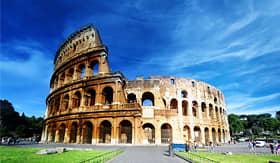Royal Caribbean Roman Colosseum in Rome Italy