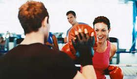 Royal Caribbean International spa & fitness Boxing Ring