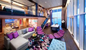 Royal Loft Suite aboard Symphony of the Seas