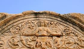 Royal Caribbean Temple of Hadrian in Ephesus, Turkey