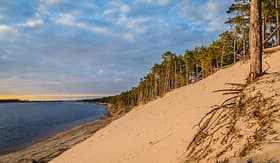 Royal Caribbean White dune in Jurmala, Latvia