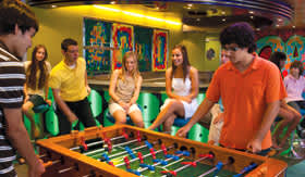 Royal Caribbean International youth programs Just for Teens - 15-17