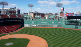 The Green Monster at Fenway Park