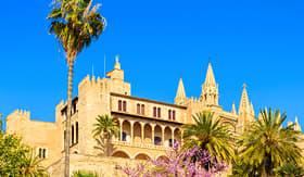 Seabourn Almudaina Palace Palma de Mallorca Spain