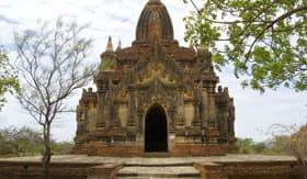 Temple in Bago, Myanmar