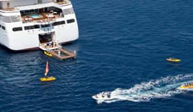 Seabourn Encore onboard marina