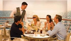Seabourn Cruise Line dining Veranda Cafe