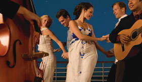 Seabourn Cruise Line entertainment Evening Under the Stars