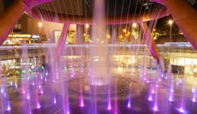 Feng shui fountain in Singapore
