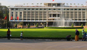 Government Building in Ho Chi Minh City