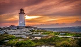 Seabourn Peggys Cove St Margarets Bay Nova Scotia
