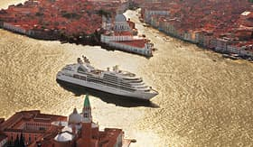 Seabourn ship Seabourn Odyssey in Venice