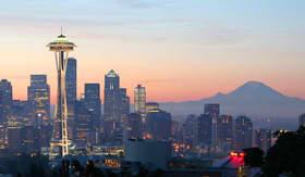 Space Needle in Seattle, WA