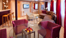 Seabourn Cruise Line staterooms Owner's Suite