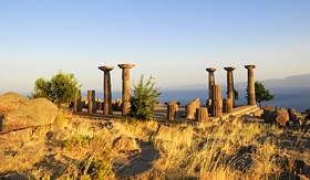 Seabourn Temple of Athena in Assos canakkale Turkey