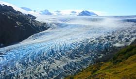 Silversea Cruises exit glacier Kenai Fjords National Park Seward Alaska