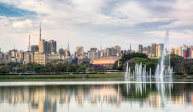 Silversea Cruises Ibirapuera park Sao Paulo Brazil