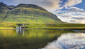 Silversea Cruises Lake in Grundarfjordur, Iceland