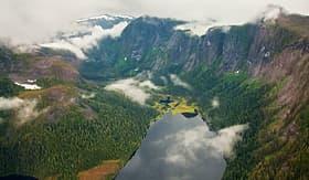 Silversea Cruises Misty Fjords National Monument Alaska