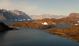 Silversea Cruises Scoresby Sound in Greenland