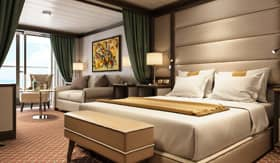 Luxury Suites aboard Silver Muse - Silversea Cruises