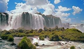 Silversea Cruises view of Iguazu Falls