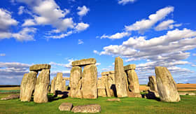 Silversea Cruises view of Stonehenge England