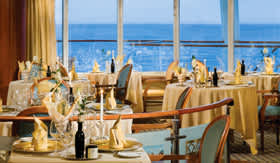 Silversea Cruise Line dining La Terrazza