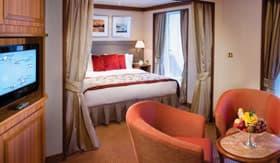 Silversea Cruises staterooms Medallion Suite