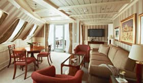 Silversea Cruises staterooms Royal Suite