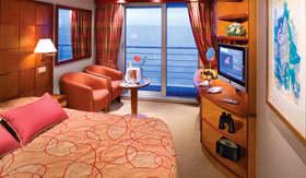 Silversea Cruises staterooms Veranda Suite