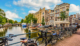 Beautiful Amsterdam, Netherlands