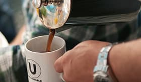 U by Uniworld River Cruises Coffee Bar