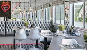 U by Uniworld River Cruises Dining Area