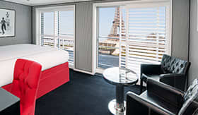 U by Uniworld River Cruises Suite, The B