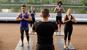 U by Uniworld River Cruises Yoga