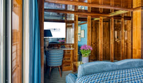 Luxury Accommodations aboard S.S. Bon Voyage