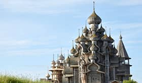 Uniworld River Cruises Church of the Transfiguration in Kizhi, Russia