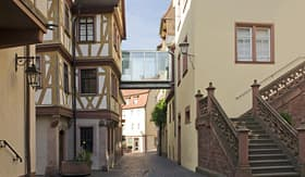 Uniworld River Cruises Old Town in Wertheim am Main, Germany