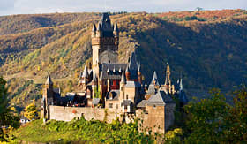 Uniworld River Cruises Reichsburg Castle in Cochem, Germany