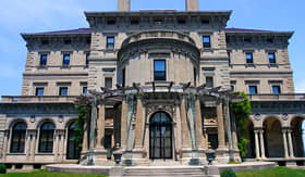 US Atlantic Coast Breakers Mansion of Newport, Rhode Island